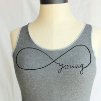 Forever Young Bow Racerback  - Small