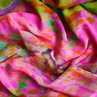 Paint Silk Scarf