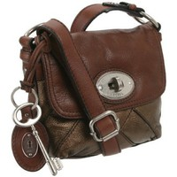 Fossil Women`s Maddox ZB5031 Crossbody,Bronze Brown,One Size