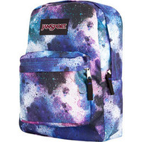 Jansport Black Label Superbreak Backpack Swedish Blue/Pink Tulip S One Size For Men 19470395701
