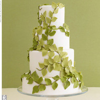 Earthy Wedding Cake