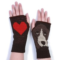 "Basset Hound All Ears Handwarmers - Dog Handwarmes Reads ""All"" ""Ears"" On the Palms"