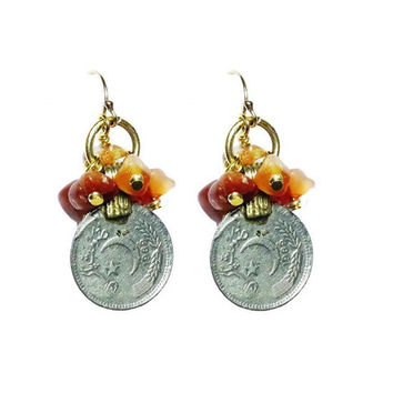 Argentia Coin Earrings