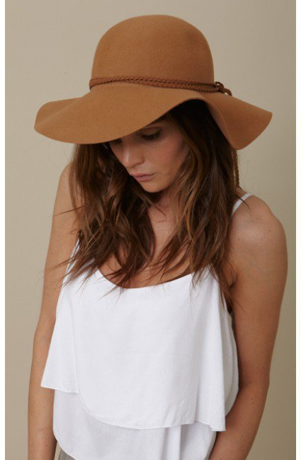 Lovely Bird - Biarritz Felt Hat