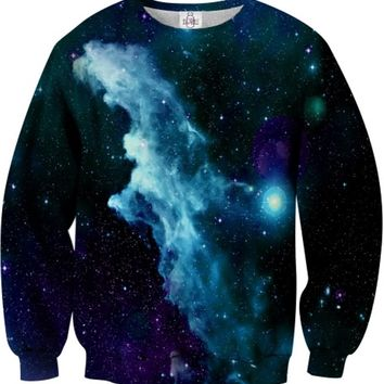SUGARPILLS Blue Galaxy Unisex Sweatshirt