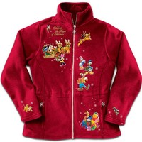 Disney Characters Fleece Jacket: Magi...