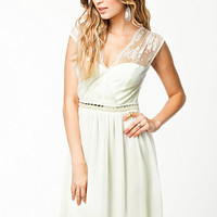 Open Back Lace Dress