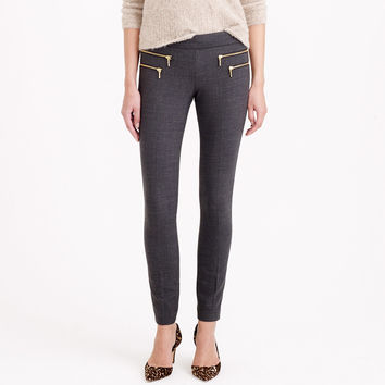 ZIPPERED MINNIE PANT IN WOOL