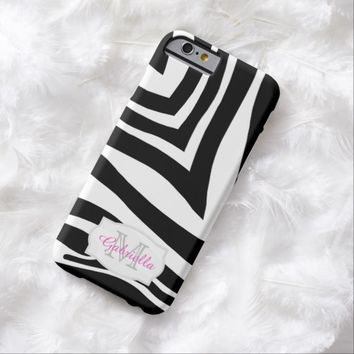 Personalized: Zebra Case for iPhone 6