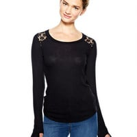 Kate Thumbohole Long-Sleeve Top