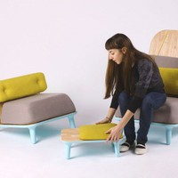 Low Chairs Family by Jovana Bogdanovic » CONTEMPORIST