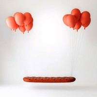 Floating Balloon Bench - My Modern Metropolis