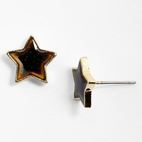 Topshop Mood Star Stud Earrings