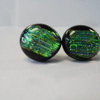 C & J Designs | Dichroic Glass Earrings | Online Store Powered by Storenvy