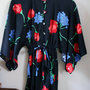 1970&#x27;s Batwing Playsuit