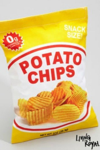 Yummy Pocket Potato Chip Bag