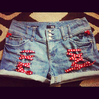 Minnie Mouse Corset Studded Shorts