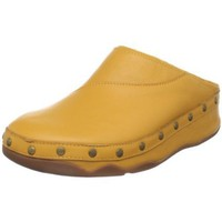 FitFlop Women`s Gogh Leather Clog,Honey Gold,11 M US