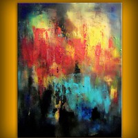 Original painting  22 x 28 inch original abstract by mattsart