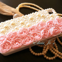 Lace Rose iPhone 4 case