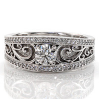 Arabella - Knox Jewelers - Minneapolis Minnesota - Antique Engagement Rings