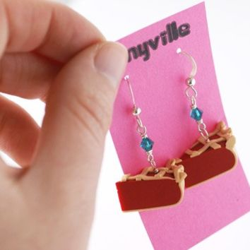 Yummy Cherry Pie Earrings