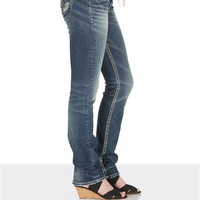 silver jeans co. ® Tuesday stud pocket medium rise jeans