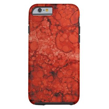 Aged Copper Patina Red iPhone 6 case