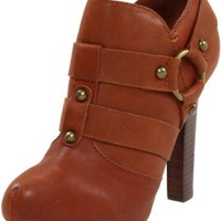 True Religion Women`s Harrison Ankle Boot,Camel Leather,7.5 M US