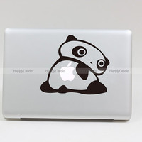 Lovely Panada  Macbook  Decal Pro/Air  Sticker Handmade Skin Partial Protector (SN27762)