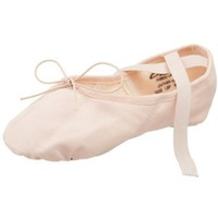 Capezio Women`s Canvas Juliet Ballet Shoe,Light Ballet Pink,4.5 M US