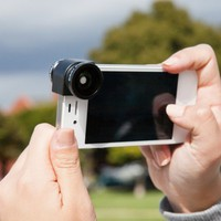 The Olloclip 3-in-1 iPhone Lens