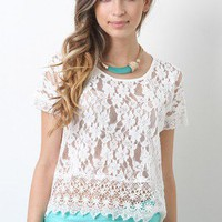 Lace To Perfection Top