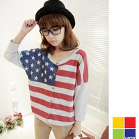AMERICAN FLAG TOP