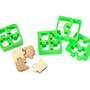 PUZZLE PIECE SANDWICH CUTTERS - SET OF 4 | Puzzles, Pieces, Sandwiches, Cut, Slice, Cutouts, Cutters | UncommonGoods