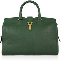 Yves Saint Laurent | Cabas Chyc leather tote | NET-A-PORTER.COM