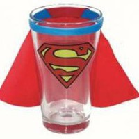 ROCKWORLDEAST - Superman, Glass Mug, Caped