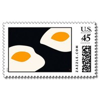 Fried Eggs - Postage from Zazzle.com