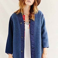 Urban Renewal Recycled Overdyed Wool Jacket - Urban Outfitters