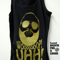 Rick Ross Woop Uhh Tank Top Limited Print All Sizes Available - Mens &amp; Womens