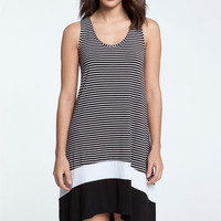 Caslon® Colorblock Knit Tank Dress | Nordstrom