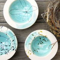 Little Blue Bowl - Karin Eriksson - bowls - home accessories - lille: a shop