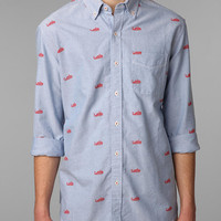 Hawkings McGill Long-Sleeved Whale Print Shirt