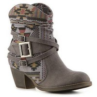 Rock &amp; Candy Razzle Print Western Bootie