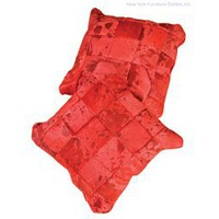 Zuo Ohlone Cushion - Red - 912003, Modern Zuo Cheyenne Rug, Zuo Modern Accessories: Nyfurnitureoutlets.com