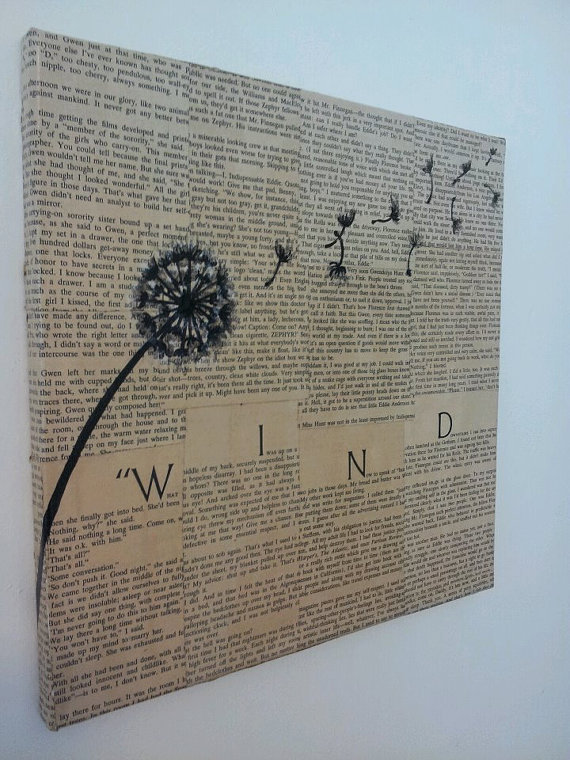 "Dandelion ""Wind"" Painting"