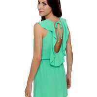 Lucy Love Breanne Dress - Mint Dress - Casual Dress - $58.00