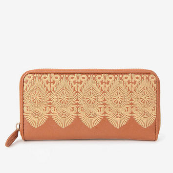 remi & reid Lace Checkbook Wallet