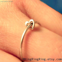 Heart rings - 925 sterling silver ring jewelry