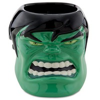 Sculptured Hulk Mug | Marvel | Products | Disney Store